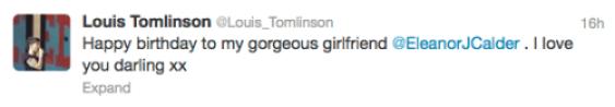 louis tomlinson tweet