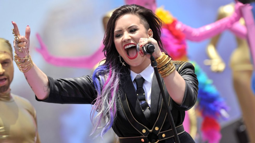"Demi Lovato Responds to Haters in Her ""Really Don't Care"" Video - J-14"