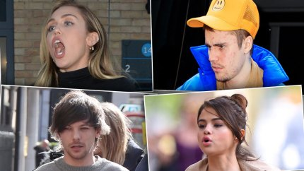 Celebrities fight with paparazzi