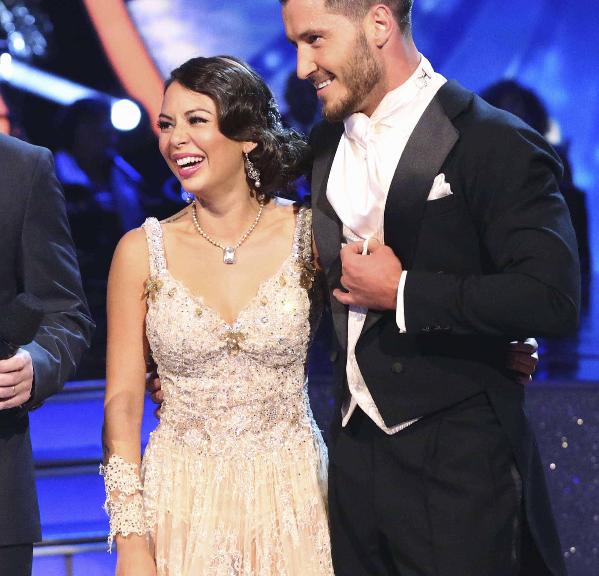 dancing with the stars val dating janel