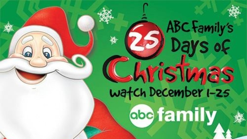 abc family 25 days of christmas schedule december 2 2014 j 14