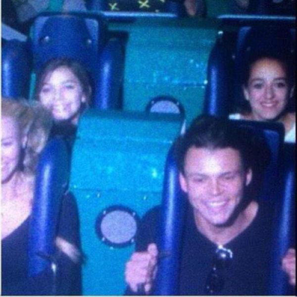 ashton irwin bryana holly disneyland ride