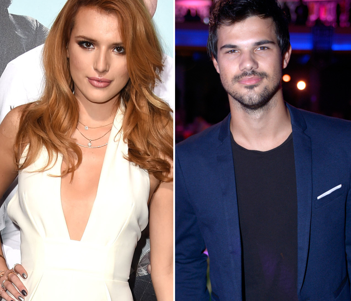 Bella Thorne Says Taylor Lautner And Raina Lawson Are Not Dating