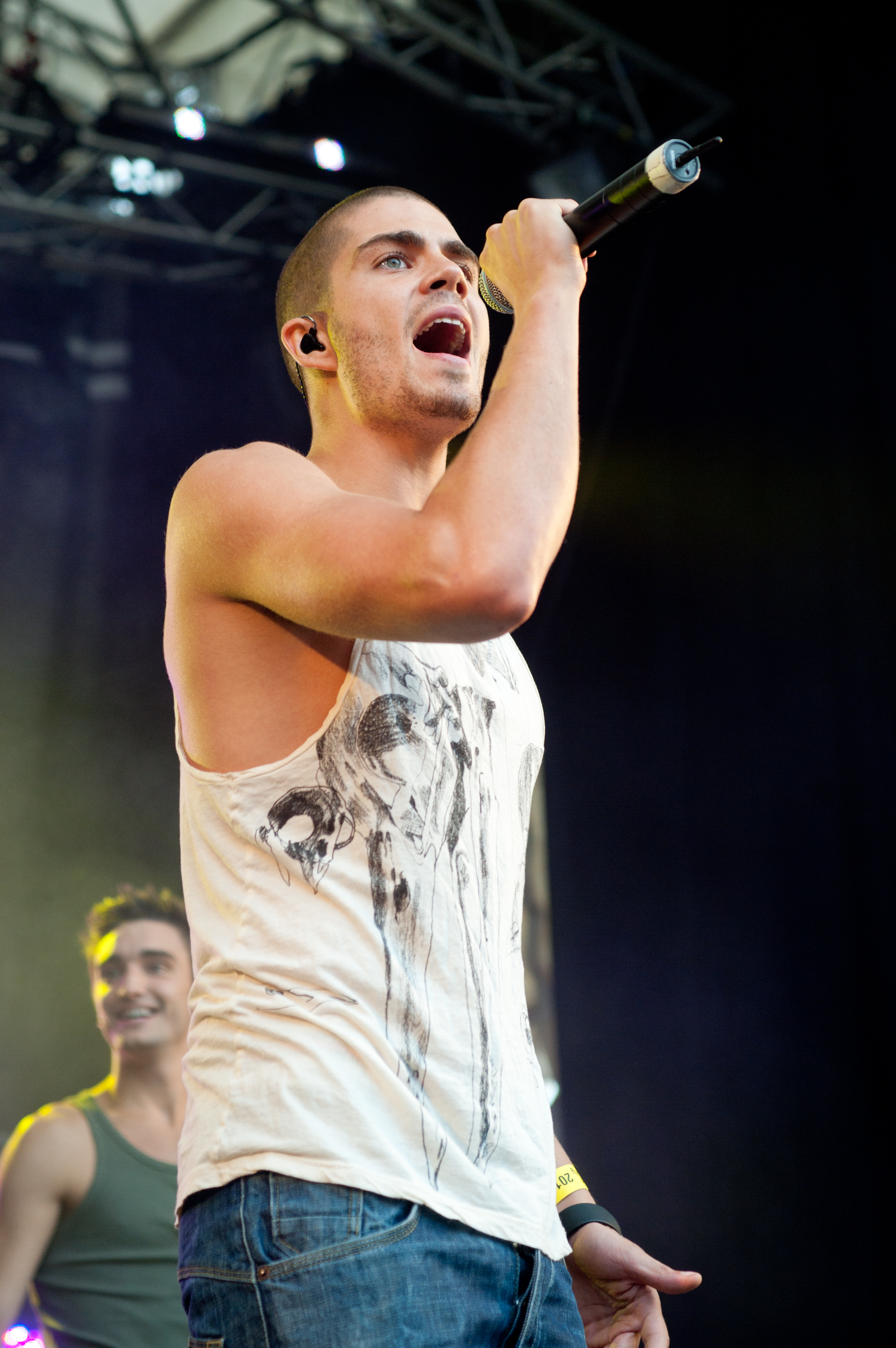 max-george-the-wanted-then