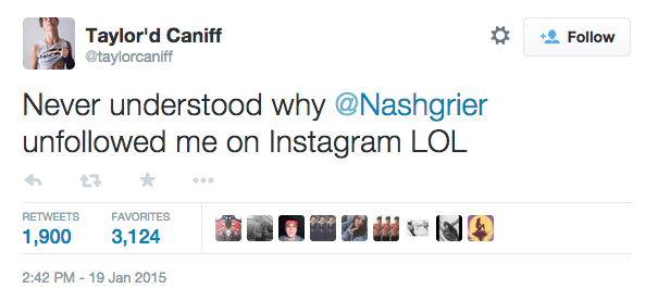 taylor caniff nash grier tweet 1
