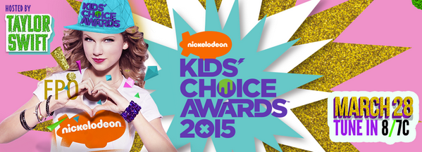 taylor swift kids choice awards press