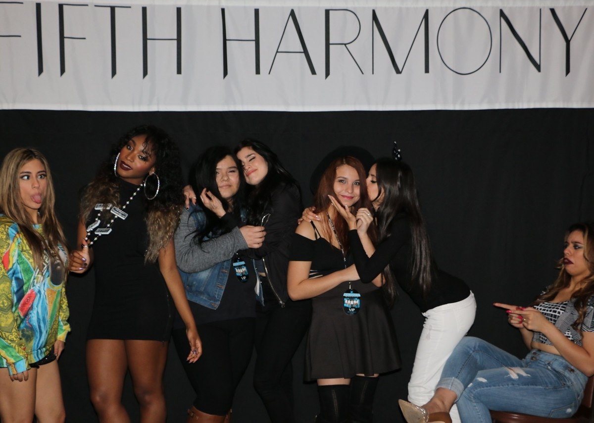15 Photos That Prove Fifth Harmony Takes The Best Meet And Greet