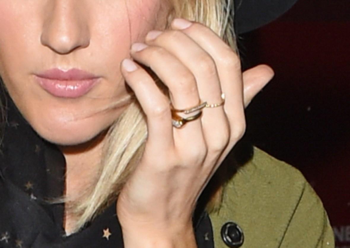 ellie goulding engagement ring