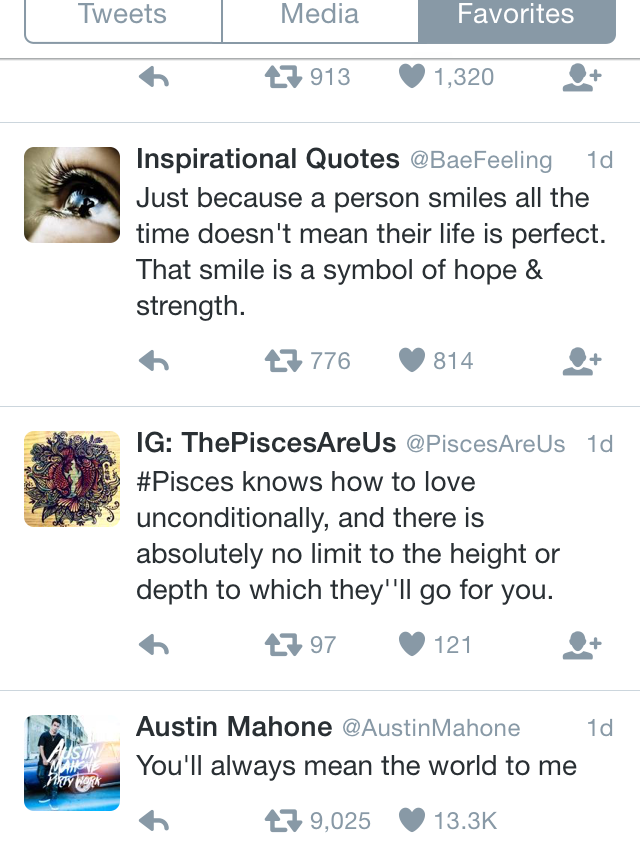 becky g austin mahone tweet