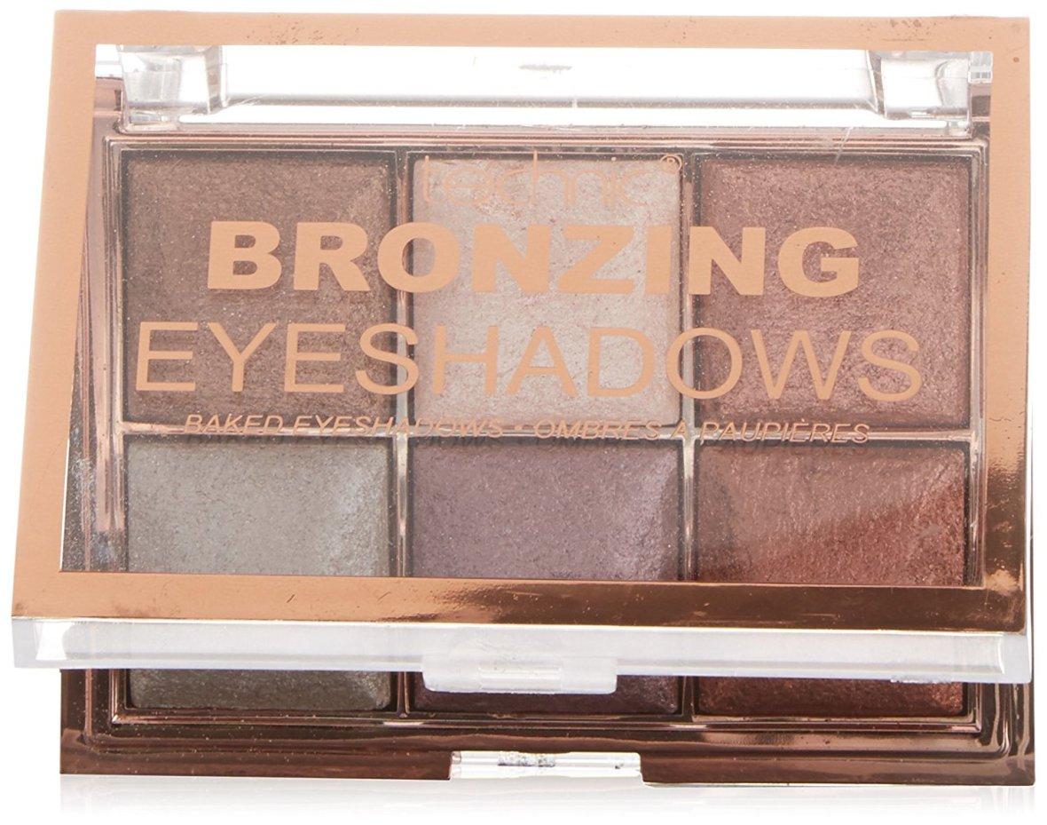 halloween-cat-makeup-technic-bronzing-eyeshadow-palette