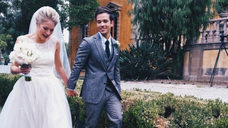 Nathan Kress London Elise Moore Wedding Video Watch