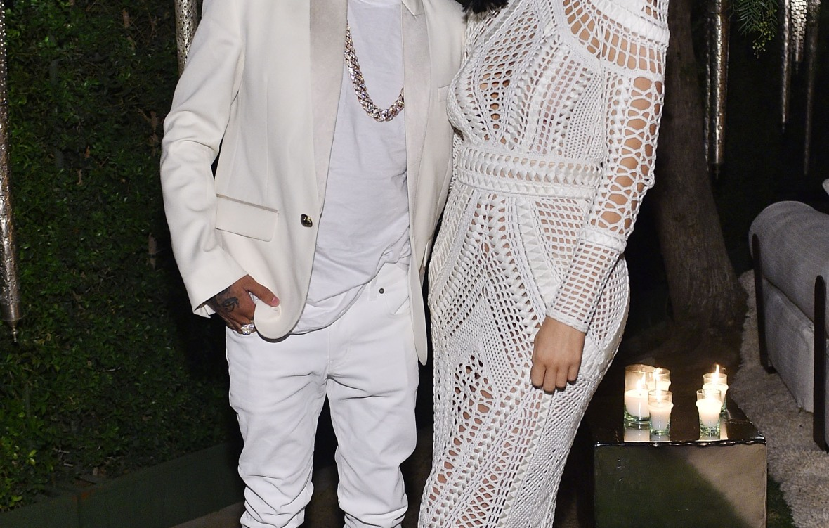 kylie and tyga - getty images