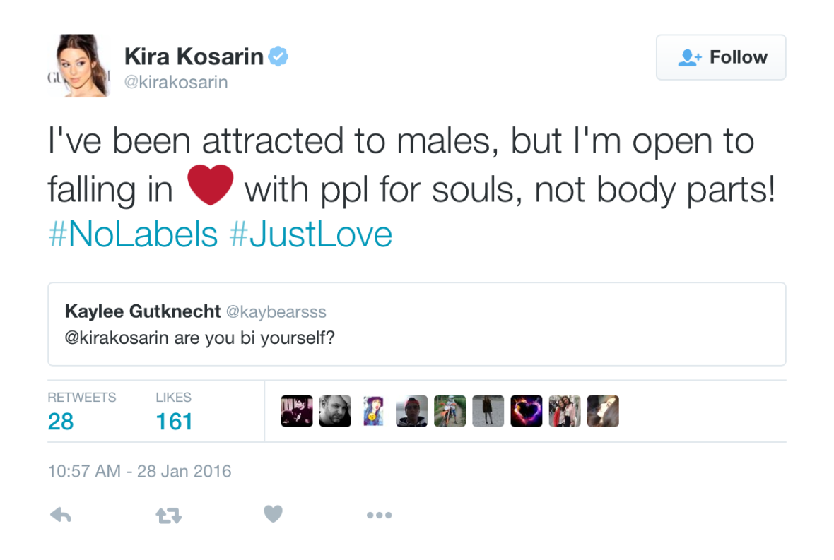 kira kosarin loving men and women