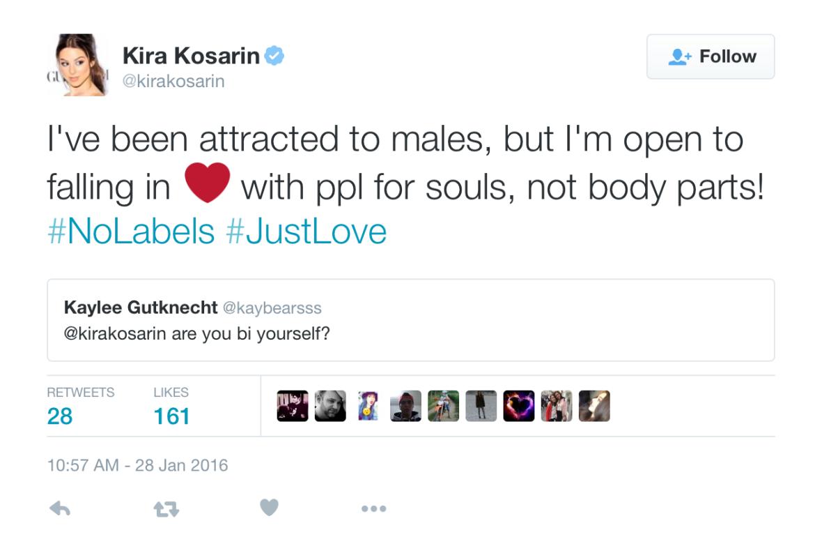 kira kosarin loving men and women
