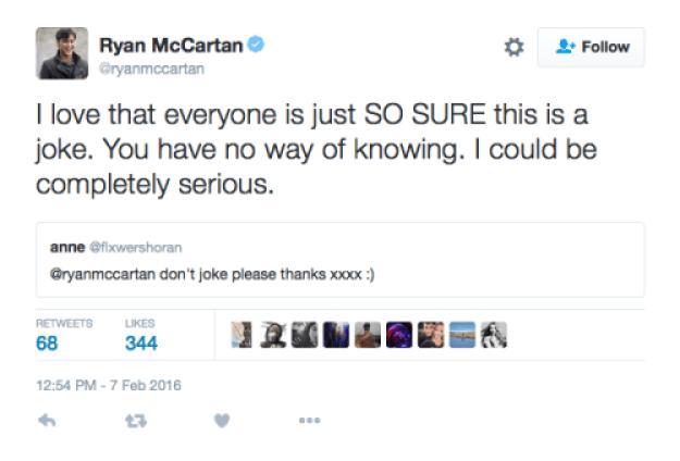 ryan mccartan and dove cameron engagement