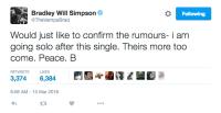 the-vamps-brad-simpson-solo-tweet