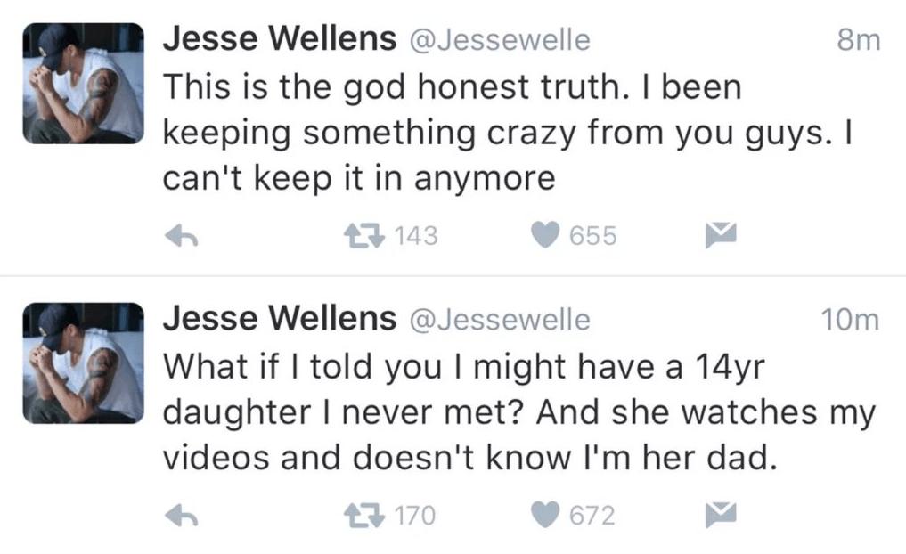 jesse wellens daughter