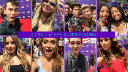stars-sing-favorite-summer-song-on-rdma-red-carpet