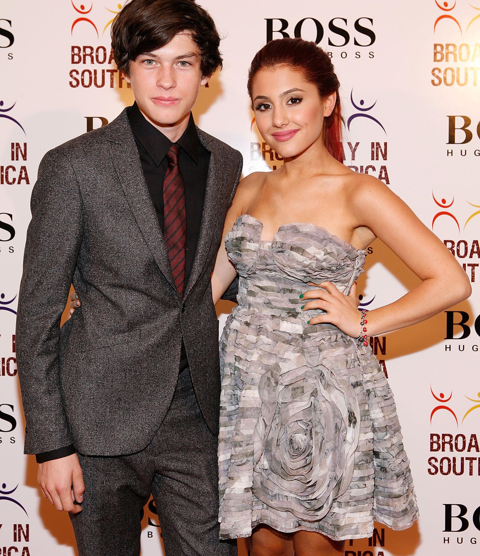 Ariana Grande Reunites With Ex-Boyfriend Graham PhillipsGraham Phillips And Ariana Grande Tumblr
