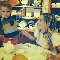 hilary-duff-and-son
