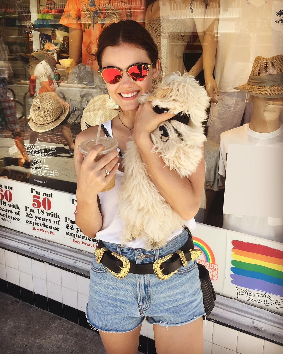 lucy hale dog ring