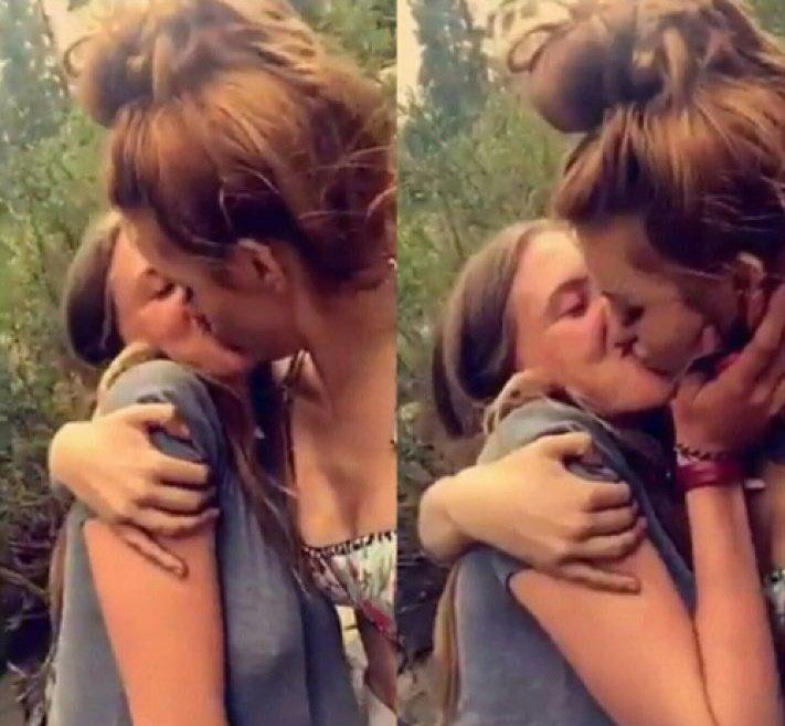 bella thorne pendergast kissing