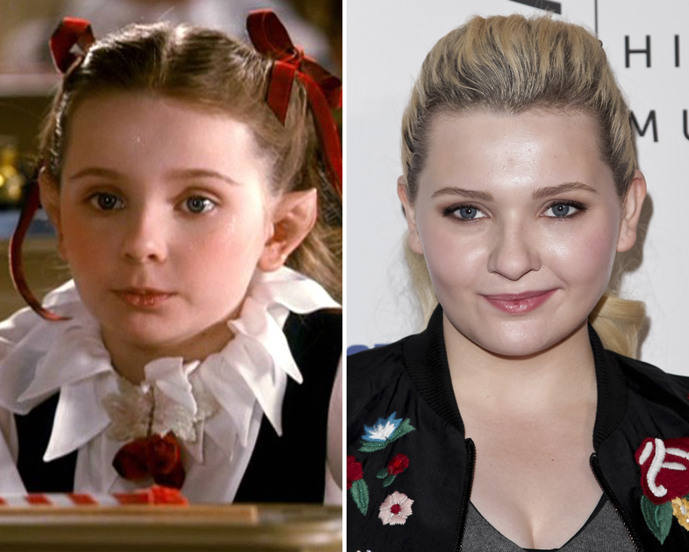 Abigail Breslin Then And Now