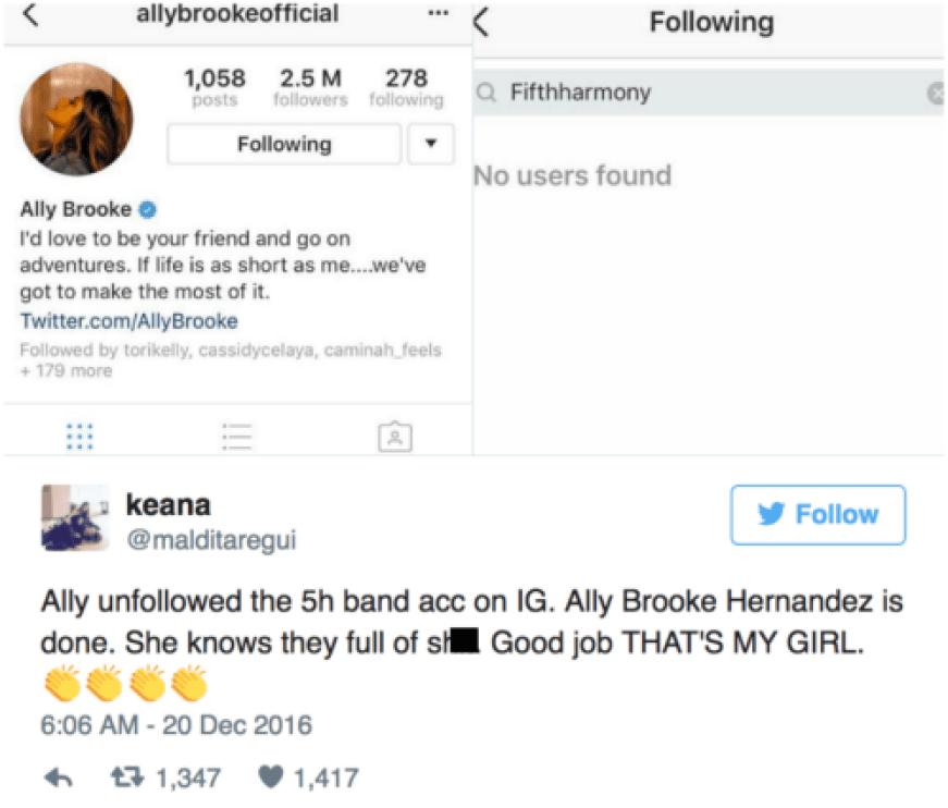 ally tweet