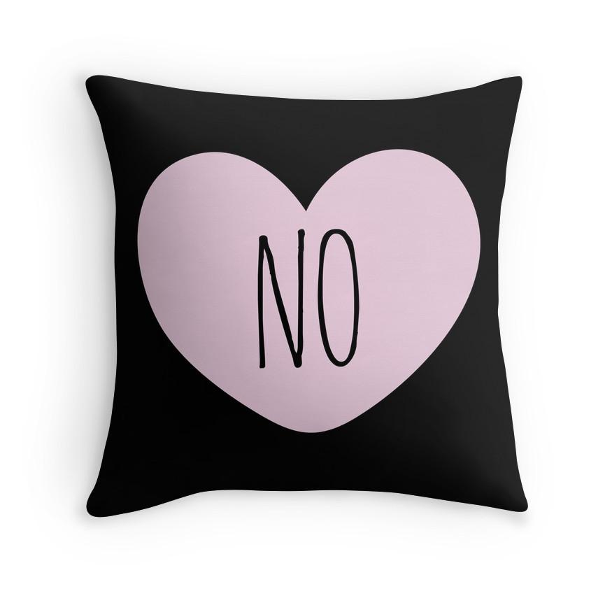 no heart pillow valentine's day