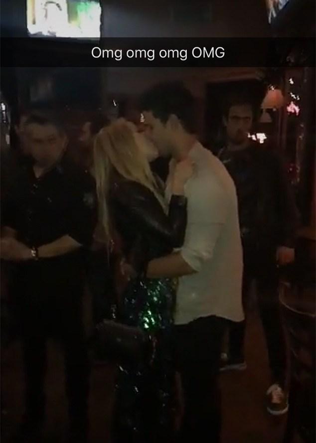 billie taylor kiss