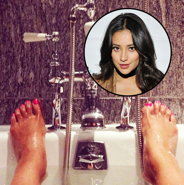 Actress with prettiest feet