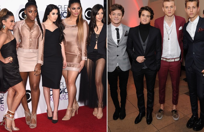 Fifth harmony dating the vamps