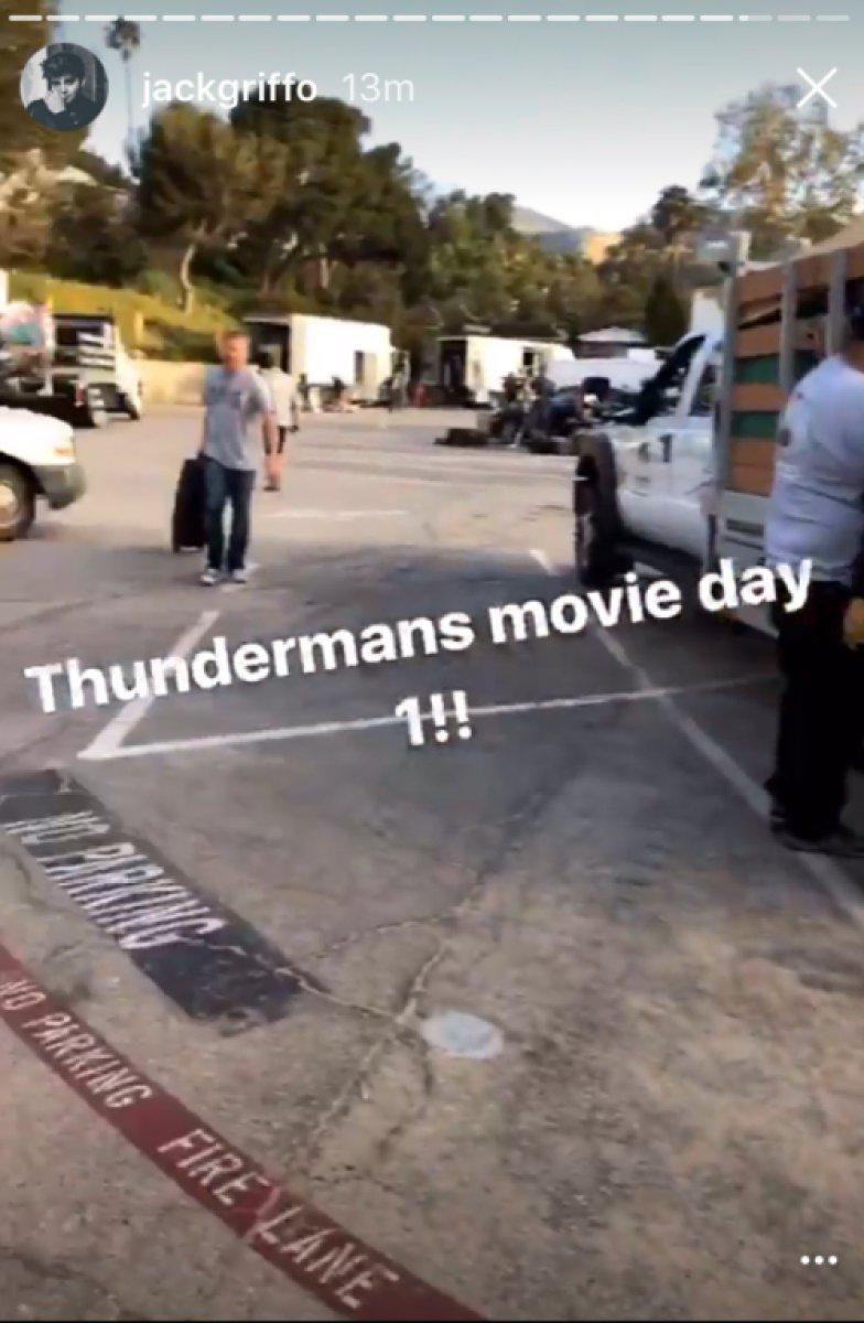 jack griffo thundermans movie