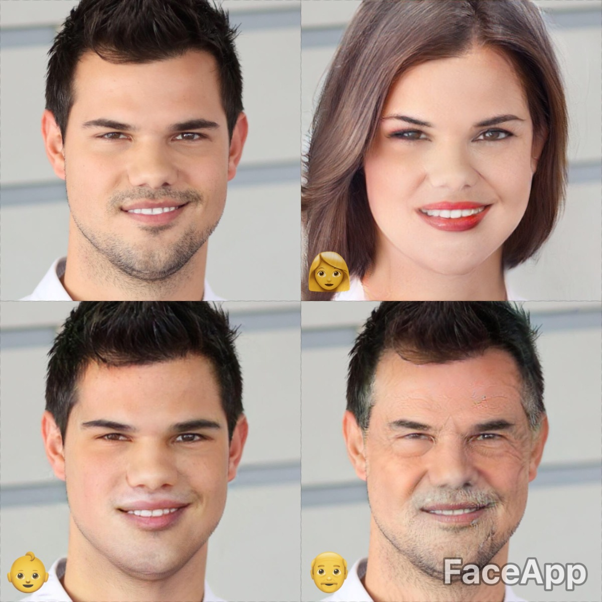 Face App: See What Celebrity Guys Look Like as Girls, Older
