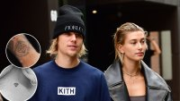 Justin Bieber Hailey Baldwin Tattoos