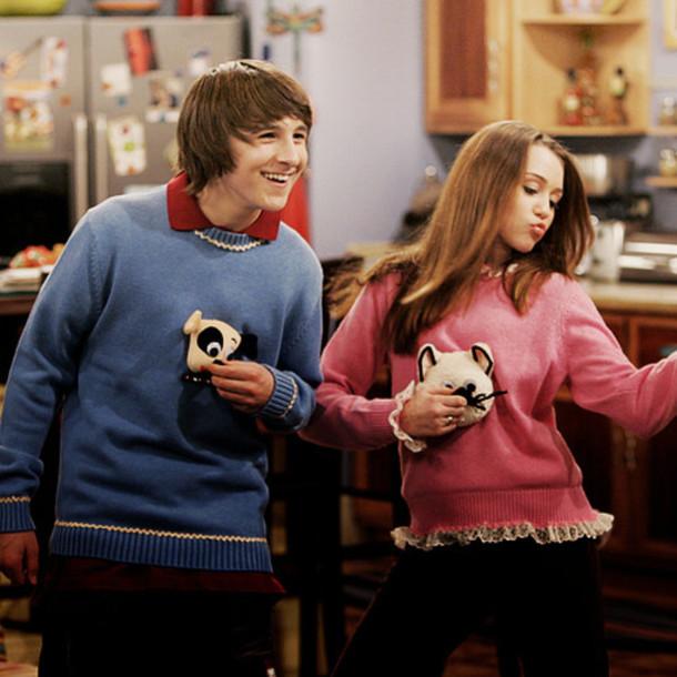 hannah montana cat sweater