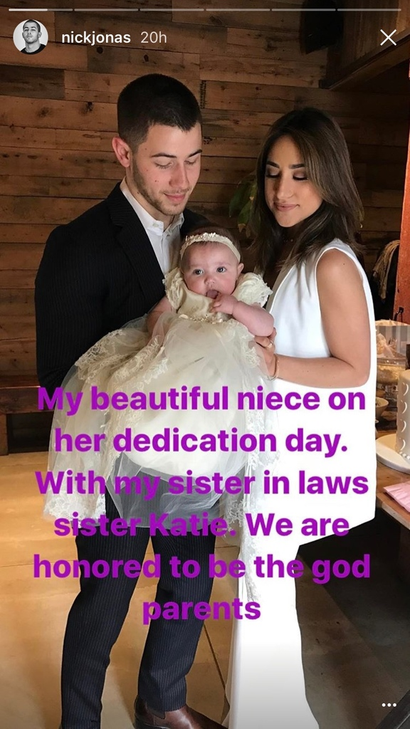 nick jonas valentina godfather