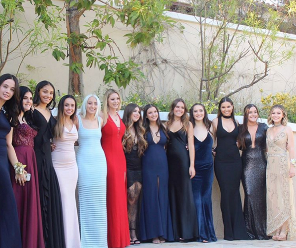 g hannelius prom group