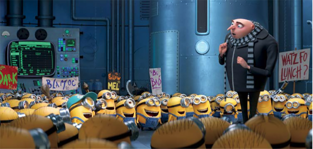 despicable me 3 - gru and minions