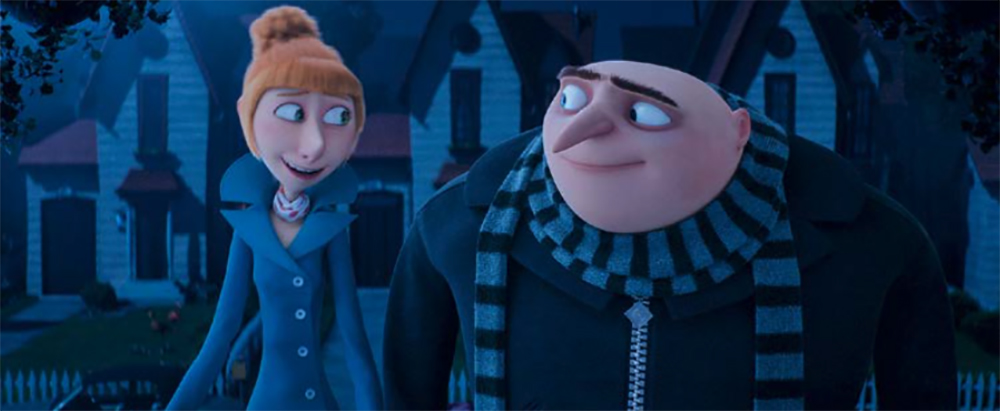 despicable me 3 - lucy and gru