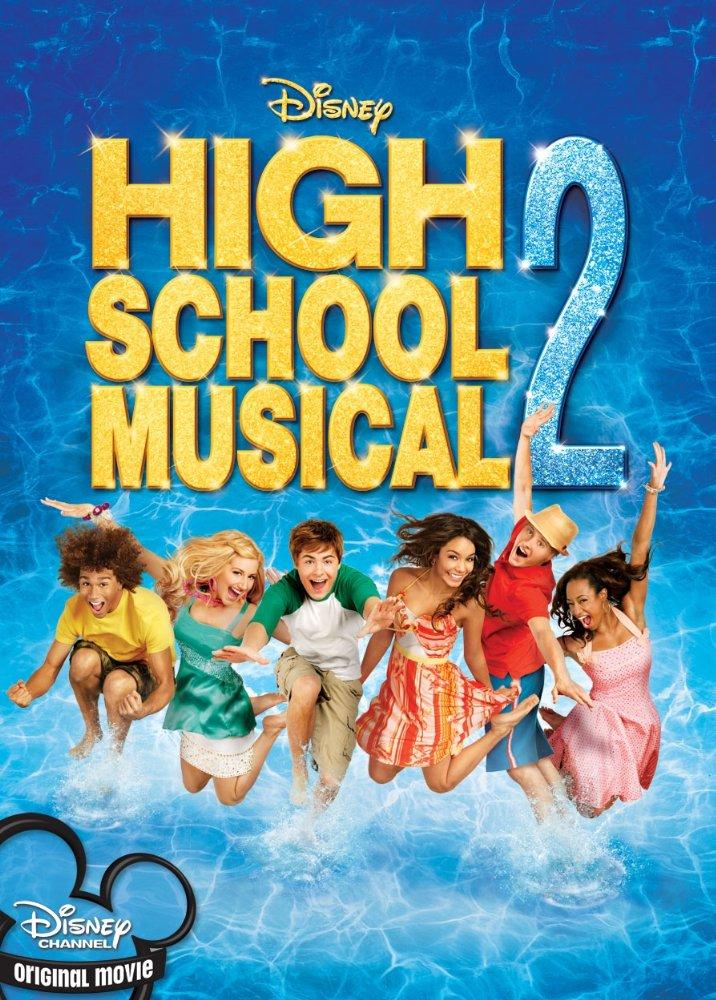 disney movies high school musical 2 poster