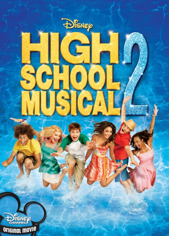 disney movies high school musical 2 poster