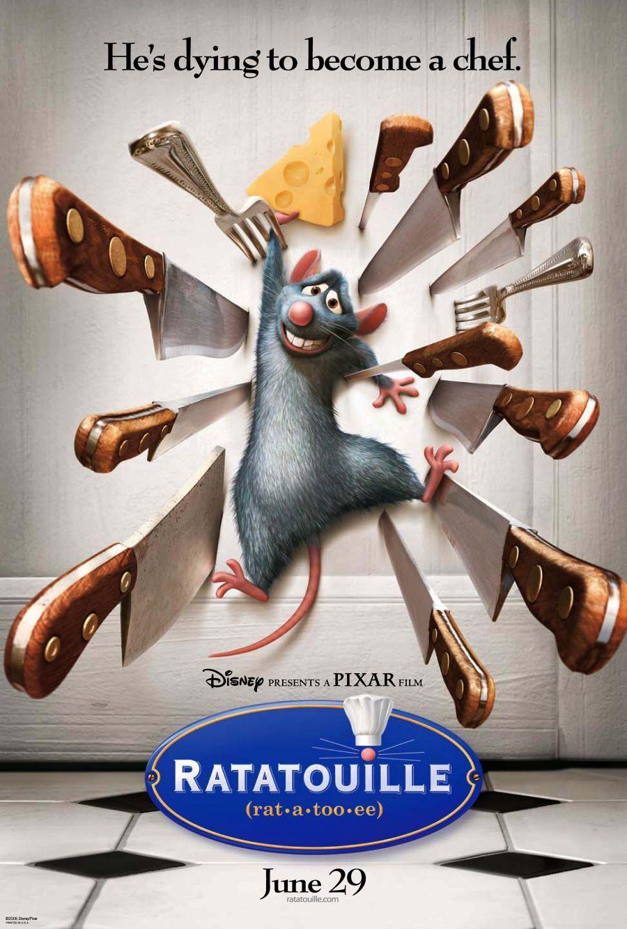 disney movies ratatouille