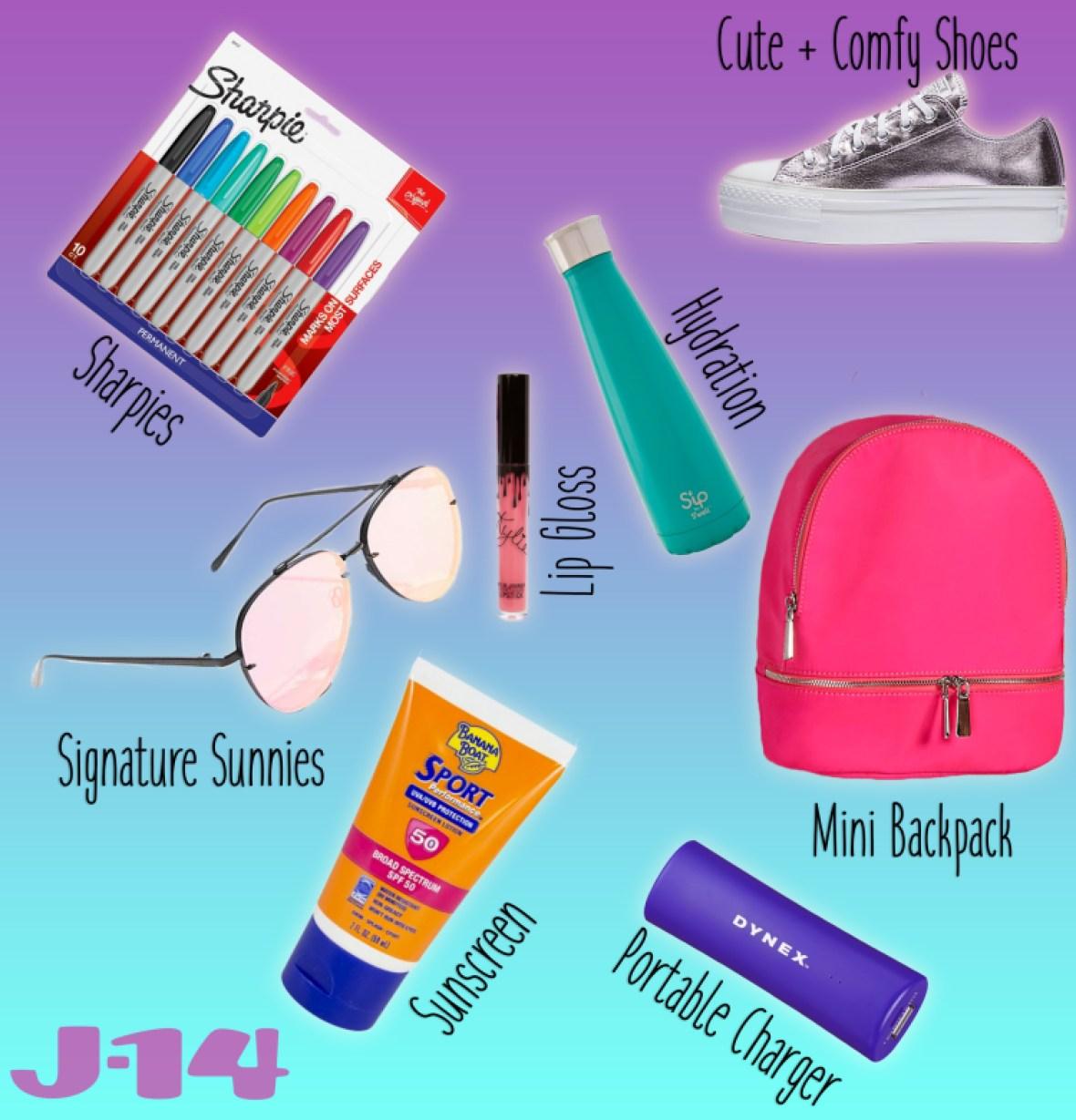 Fangirl guide summer essentials