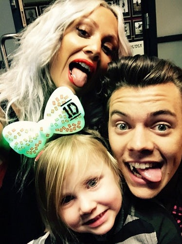 lou lux and harry selfie