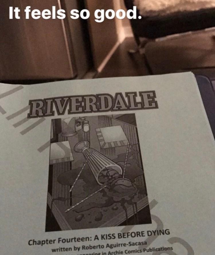 riverdale script season 2 script