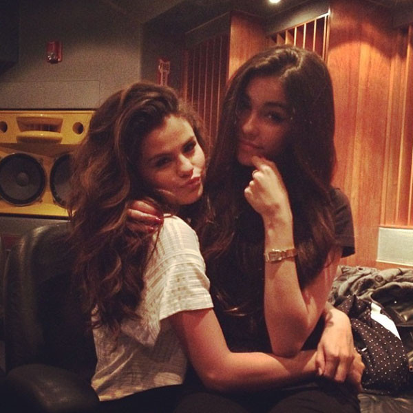selena gomez and madison beer