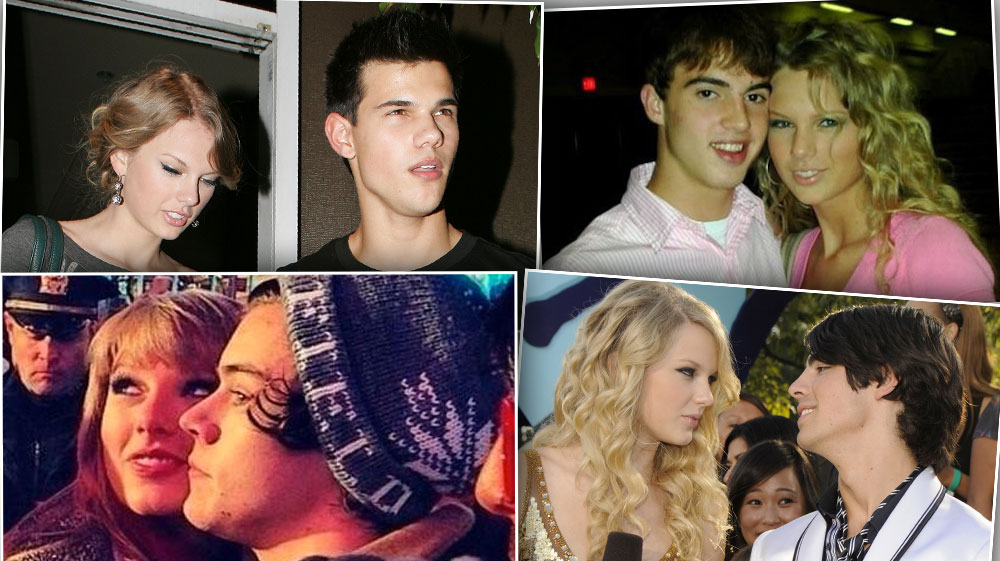 Taylor Swift Past Relationships Where Ex Boyfriends Are Now
