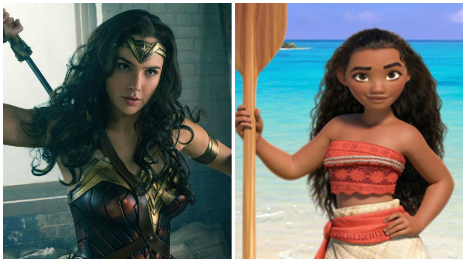 A Conspiracy Theory Wonder Woman And Moana Are The Same Person