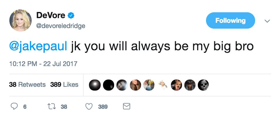 devore ledridge tweet 2